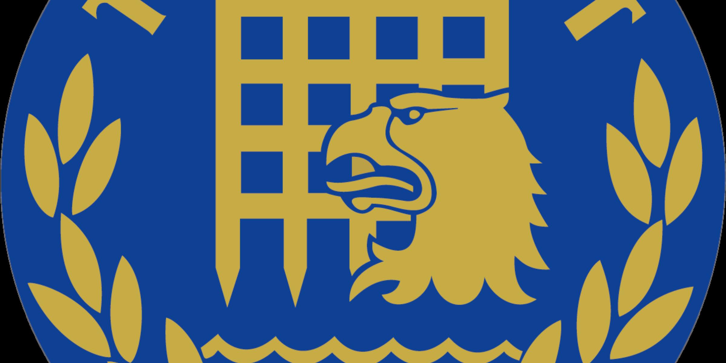 TULL-KUST Logga Blå Bakgrund