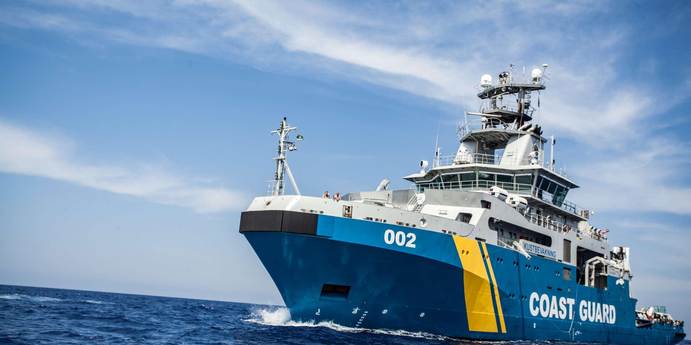 Kombinationsfartyg KBV 002 Triton